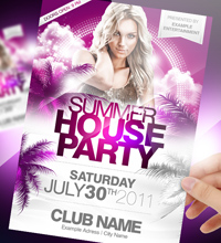 Summer Break Party Flyer - 28
