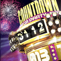 New Year Countdown Flyer