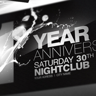 Anniversary Party Flyer