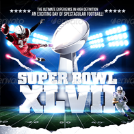 Super Bowl/College Football Flyer