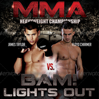 BAM! Lights Out Flyer
