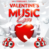 Love Music Flyer