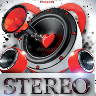 Stereo Love Flyer Template