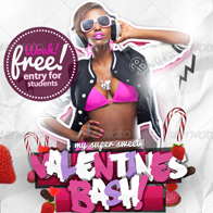 Super Sweet Valentines Flyer Template