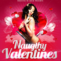 Naughty Valentines Party Flyer