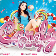 Flyer Candy Party