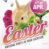 Easter - Flyer Template