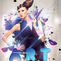 Art Party Flyer