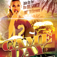 Game Day Specials: Football Flyer Template
