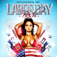Labor Day Bash Flyer