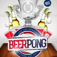 Beer Pong Tournament Flyer