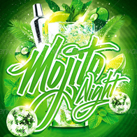 Mojito Night Party Flyer