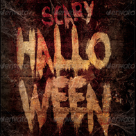 Scary Halloween Flyer