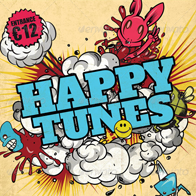 Flyer template Happy Tunes