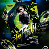 The Party Flyer Template V2