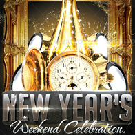 New Year Celebration Event Flyer