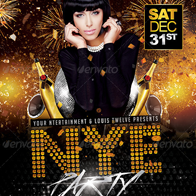NYE Party 3 | Flyer