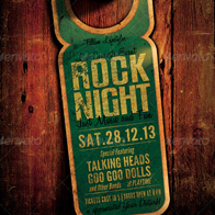 Rock Flyer/Poster Vol. 5