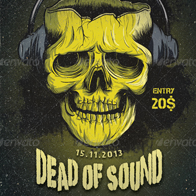 Dead of Sound Flyer/Poster
