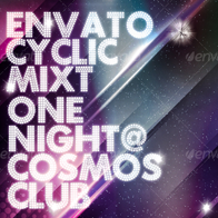 Cosmos Summer Party / Nightclub Poster & Flyer