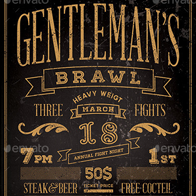 Gentlemen's Brawl Flyer