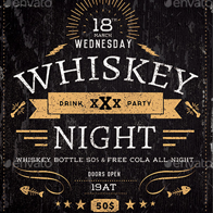 Whiskey Night Flyer