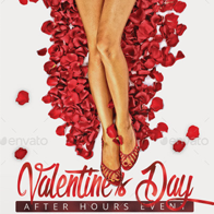 Valentine After Hours Event Flyer Template