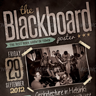 Blackboard Flyer/Poster